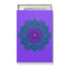 <b>Коробка для чехлов</b> Мандала на фиолетовом #2670825 от ...