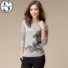 <b>shintimes</b> Graphic Tees <b>Women</b> Tshirt Long Sleeve T Shirt <b>Women</b> ...