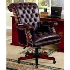 traditional nailhead trim tufted back executive leather office chair bedroomgorgeous executive office chairs furniture