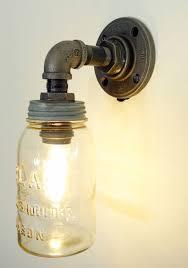 mason jar pipe light mason jar bathroom lights mason jar light fixtures mason jar sconce diy mason jar lights diy mason jar pendant light diy vintage mason jar chandelier