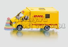 <b>SIKU</b> 1936 Сику <b>Почтовая машина</b> DHL 1:50