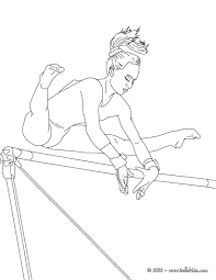 Gymnastics Coloring Sheets Gymnastics Coloring Pages Balance Beam Artistic