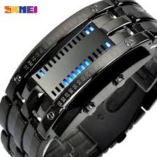 <b>SKMEI Fashion</b> Creative Sport <b>Watch Men</b> Stainless Steel Strap ...