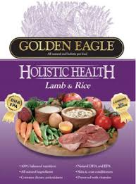 <b>Golden Eagle Holistic</b> Health Lamb and Rice Dry Dog Food