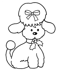 Small Picture Cute Female Dog Coloring Page Download Print Online Coloring