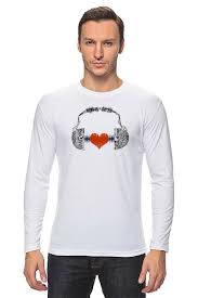 <b>Лонгслив Я люблю</b> музыку #1404657 от Svetulek2117 по цене ...