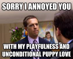 My dog whenever I put her back in her cage for being too rowdy ... via Relatably.com