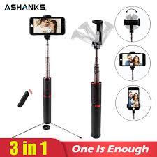 Online Shop ASHANKS <b>Bluetooth</b> Selfie Stick Mini Tripod 3 in 1 ...