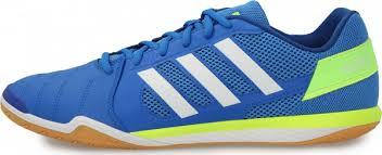 <b>Бутсы</b> мужские <b>adidas Top Sala</b> синий/белый цвет - купить за ...
