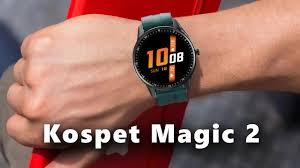 Kospet SmartWatch <b>Kospet Magic 2</b> Unboxing & Review Bom e Barato