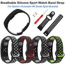 Soft Breathable Silicone Sport Watch Band Strap Wristband <b>Wrist</b> ...