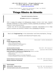 resume thiago ribeiro de almeida automation engineer