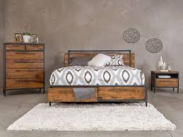 insigna collection from dania furniture industrial cabin look 799 bed 849 high chest bedroomravishing aria leather office