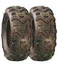 PAIR OF 26X10 R14 (26x10-14) Duro PowerGrip Quad/ATV (2 Tyres)