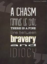 I have a theory that selflessness and bravery aren't all that ... via Relatably.com