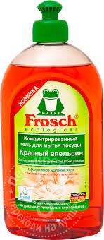 Купить <b>Средство для мытья</b> посуды <b>Frosch</b> Красный апельсин ...