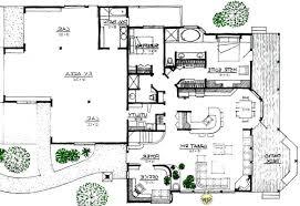 RUSTIC LODGE  Space Efficient  Solar and Energy Efficient House PlanView Reverse Floor Plan Image