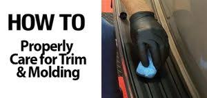 Auto <b>Trim</b> & <b>Molding</b> Guide: clean & protect exterior vinyl, rubber ...