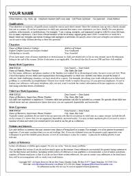 infant nanny resume samples resume for job perfect nanny resume sample