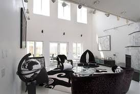 black white house living room interior black white interior design
