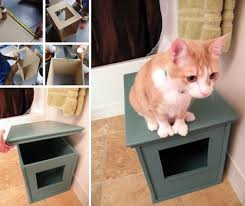 27 useful diy solutions for hiding the litter box buzzfeed mobile cat lovers 27 diy solutions