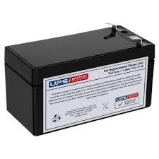 <b>Mortara ELI</b> 150 EKG Machine 12V 1.2Ah Medical Battery with F1 ...