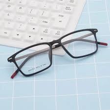 Men Women <b>Tr90 Square Optical Prescription Glasses Frame</b> ...