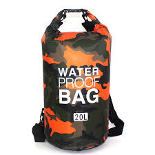 Outdoor <b>Bag Camouflage</b> Portable Rafting Diving <b>Dry Bag</b> Sack ...
