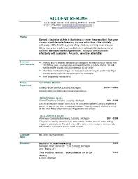 objectives resumes template objective of resumes
