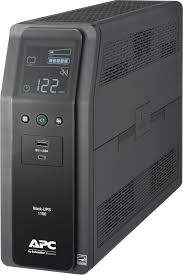 APC <b>Back</b>-<b>UPS Pro</b> 1100VA Battery <b>Back</b>-Up System Black ...