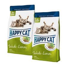 <b>Happy Cat Fit</b> & Well Adult Weide-Lamm Sparpaket 2x10kg | Food ...