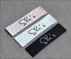 free shipping custom clothing loop fold cotton label cotton tag printing garment main labels shirt labels logo brand 1000 pcs