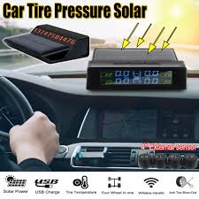 <b>Smart Car TPMS Tyre</b> Pressure Monitoring System Solar Power ...