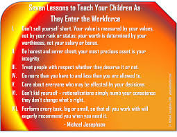workplace management archives what will matter 7 lessons to teach your children as they enter the workforce