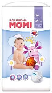 <b>Momi трусики High Standard</b> M (6-11 кг) 56 шт. купить по цене 749 ...