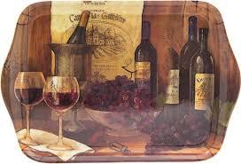 """Маленький подарочный <b>поднос</b> """"<b>Винтажные вина</b>"""", 21 х 14 см"""