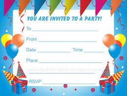 printable birthday invitation com printable birthday party invitations templates hubpages