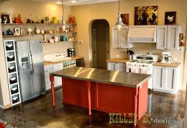 kitchen no cabinets