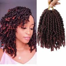 Pre-Twisted <b>Spring Twist</b> Hair Passion Twists <b>Crochet Braids</b> Short ...
