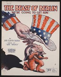 about this collection world war i sheet music digital the beast of berlin