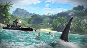 game of far cry 3 has sharks