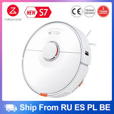 <b>2021 Newest Roborock S7</b> Robot Vacuum Cleaner Sonic Mopping ...