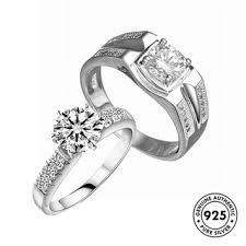 Elfi <b>925 Genuine</b> Silver Couple Ring C49 | Shopee Malaysia