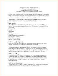 5 statement of work template authorizationletters org statement of work sow template doc pictures