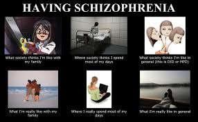 Female, Twenty Something, Schizophrenic, GSOH: Schizophrenia Memes via Relatably.com