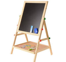 <b>wood double</b> magnetic <b>children</b> easel small blackboard <b>lifting</b> ...