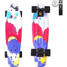 <b>Скейтборд RT 401G</b>-Sp <b>Fishskateboard</b> Print 22 винил 56,6х15 с ...