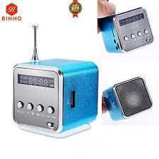 TD-V26 <b>Portable Multifunction Mini</b> Speaker SD/TF-Green/Blue/Pink ...