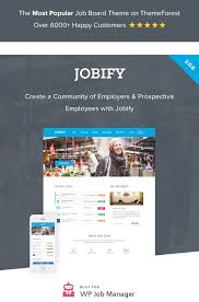 best job board themes plugins for wordpress site jobify job portal theme