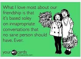 What I love most about our friendship | Funny Dirty Adult Jokes ... via Relatably.com